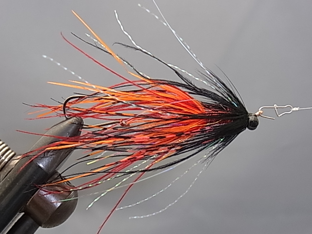 Aqua Mini-Intruder Orange/Black