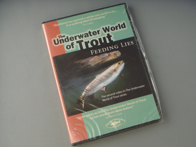 THE UNDERWATER WORLD OF TROUT VOLUME 2: FEEDING LIES