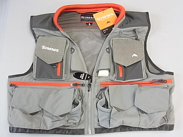 SIMMS GUIDE VEST Steel size:S