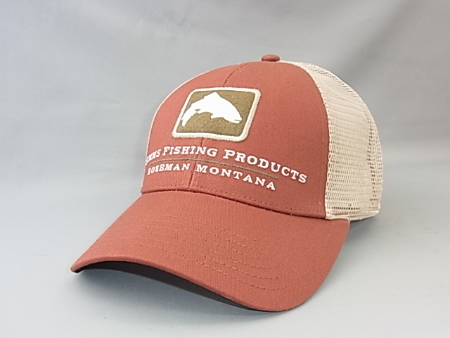 シムス SIMMS Trout Icon Trucker  RUSTY RED(2018)