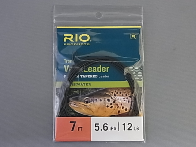 リオ RIO Trout VersiLeader 12lb 7ft 5(5.6)ips