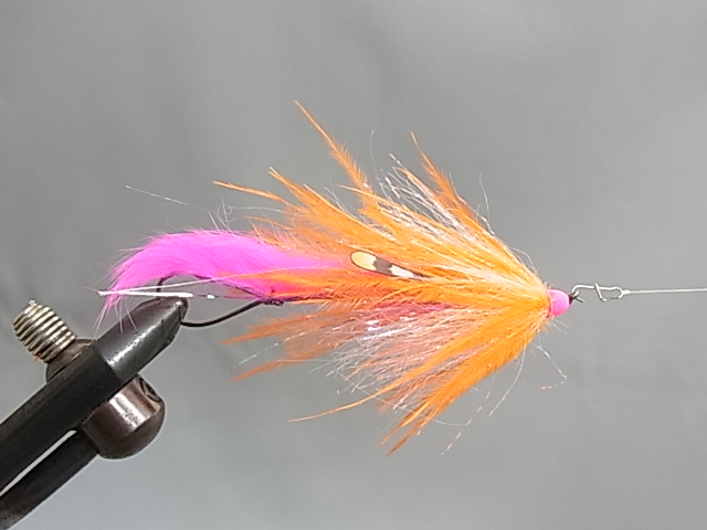 "Aqua Dirty Hoh Steelhead 3.5"" Pink/Orange"
