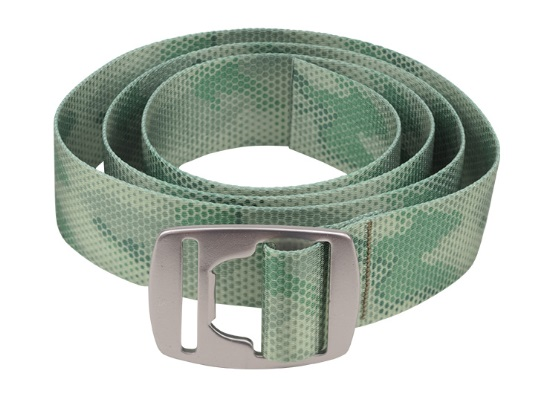 SIMMS BOTTLE OPNER BELT Hex Camo Loden