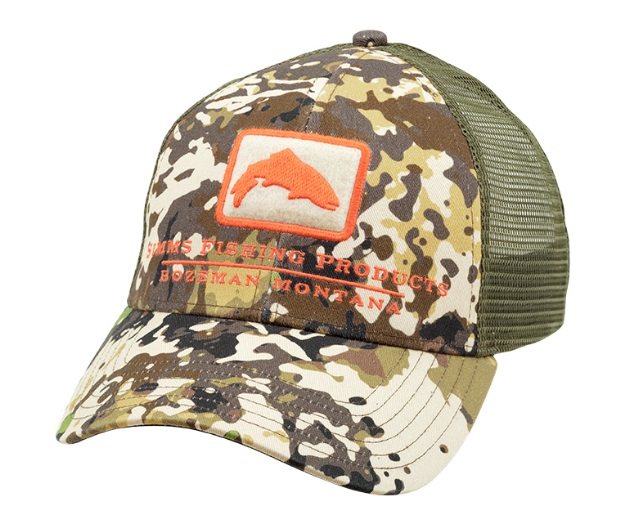 シムス SIMMS Trout Icon Trucker  RIVER CAMO