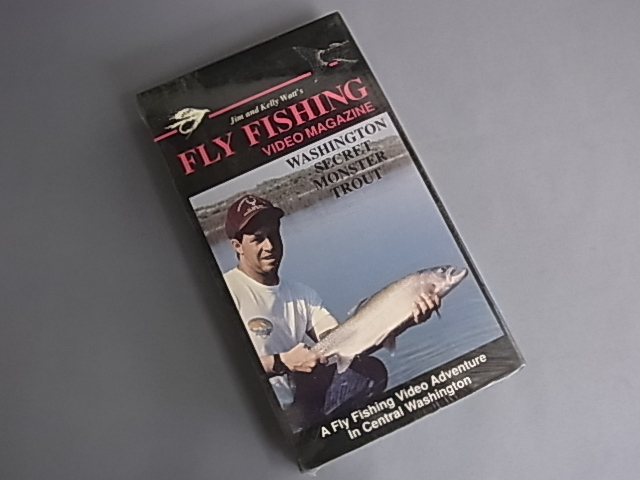 *FLY FISHING VIDEO MAGAZINE WASHINGTON SECRET MONSTER TROUT