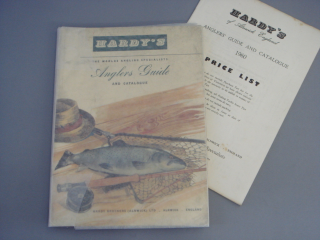 Hardy Anglers Guide 1960 with price list EX