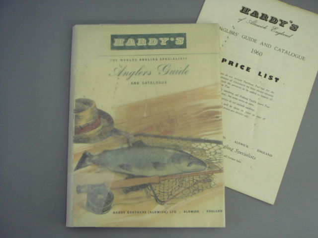 Hardy Anglers Guide 1960 with price list cover damage