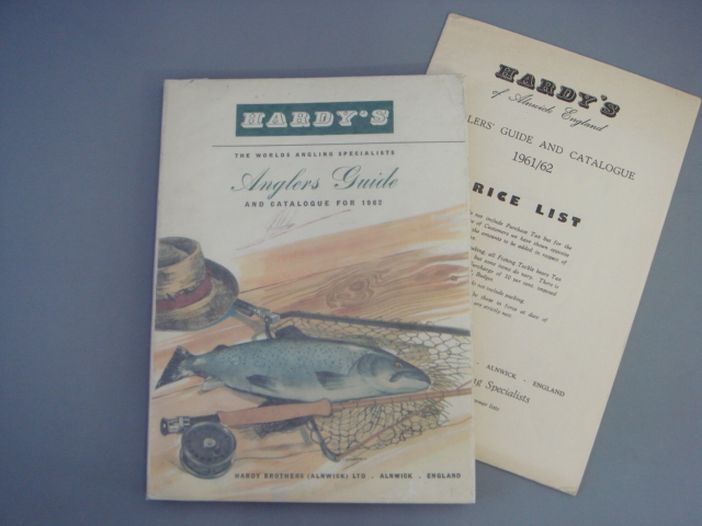 Hardy Anglers Guide 1962 with price list EX