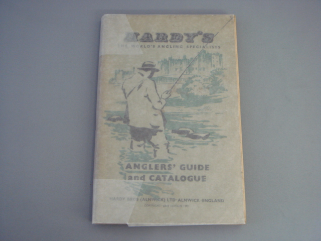 Hardy Anglers Guide 1957 VG