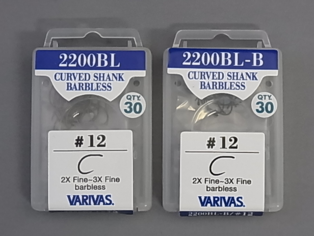 2200BL Curved Shank Barbless