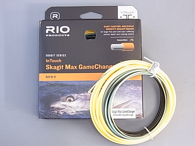 リオ RIO Skagit Max GameChanger F/I/S3/S5 18ft 350gr (S5)